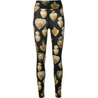 Dolce & Gabbana Leggings 'Sacred Heart' - Preto