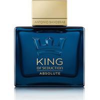 Perfume Masculino King Of Seduction Antonio Banderas Eau De Toilette 100Ml - Masculino