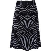 Saia Manuela (Estampado Zebra, Gg)