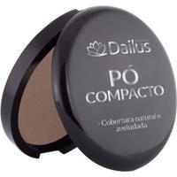 Pó Compacto Dailus Color 14. Toffe - Feminino-Café