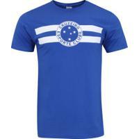 Camiseta Do Cruzeiro Logo - Masculina - Azul