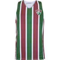 Camiseta Regata Do Fluminense Dupla Face Smell - Masculina - Branco