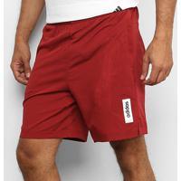 Short Adidas Brilliant Basics Masculino - Masculino-Vermelho+Branco
