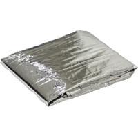 Cobertor De Emergência Trilhas E Rumos Cinza