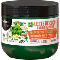 Máscara De Hidratação Capilas Salon Line Maria Natureza Leite De Coco E Óleo De Monoi 300G