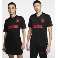 Camisa Nike Atlético De Madrid Ii 2019/20 Torcedor Pro Unissex