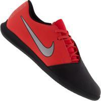 Chuteira Futsal Nike Phantom Venom Club Ic - Adulto - Coral/Preto