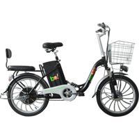 Bicicleta Elétrica Biobike, Quadro Em Aço, Modelo Urbana - Preto
