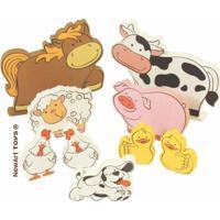 Coleção Fazendinha Animais Da Fazenda Newart Toys Colorido