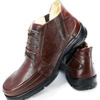 Sapato Couro Mafisa Conforto Masculino - Masculino