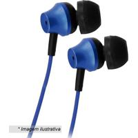 Fone De Ouvido Platinum- Azul Royal- 120Cm- P2