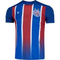 Camiseta Do Bahia Tricolor 19 Super Bolla - Masculina - Azul/Vermelho