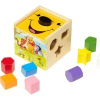 Cubo Com Blocos De Encaixar - Disney - Pooh - Melissa And Doug