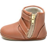Sapatinho Infantil Sw Shoes Linha Bebe Caramelo
