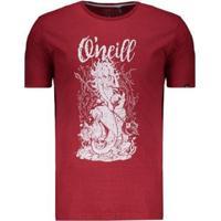 Camiseta O'Neill Mermaid Estampada Masculina - Masculino-Verde