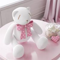 Urso Branco Laã§O Rosa Poã¡ 25Cm Grã£O De Gente Rosa - Rosa - Menina - Dafiti