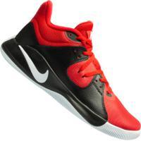 Tênis Nike Fly.By Mid - Masculino - Vermelho/Preto