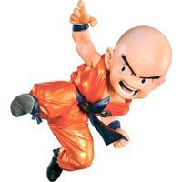 Figura Colecionável - 12 Cm - Dragon Ball Z - Kuririn - Bandai - Unissex-Incolor