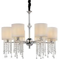 Lustre Lamp Show Vichy Branco - Prata - Dafiti