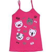 Camisola Animais- Pink & Branca- Zulaizulai