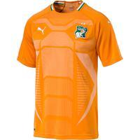 Camisa Seleção Costa Do Marfim Home 2018 S/N° - Torcedor Puma Masculina - Masculino
