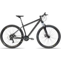 Bicicleta Aro 29 First Smitt 24 Velocidades Freio A Disco Hidráulico Suspensão Com Trava - Unissex