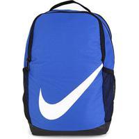 Mochila Infantil Nike Brasilia - Unissex-Azul Royal+Branco