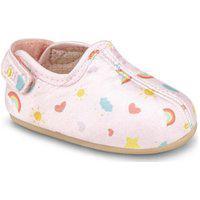 Sapatilha Infantil Bibi Afeto Joy Feminino Rosa Sugar Com Estampa Rainbow - 1124114 17