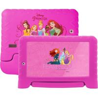 "Tablet Multilaser Disney Princesas 7"" Nb281 Rosa"