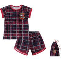 Pijama Lilica Ripilica Bebê 101103280001 Vermelho
