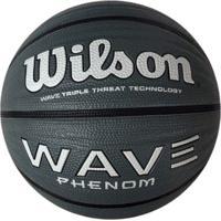 Bola De Basquete Wilson Wave Phenom N° 7 Cinza
