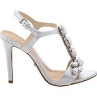 High Heels Jewelry Sandals Prata | Schutz