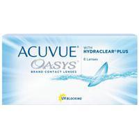 Acuvue Oasys Com Hydraclear Plus - Lentes De Contato