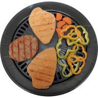 Grill Plate Em Alumínio Antiaderente Para Fogareiro E Fogão - Guepardo Ua0201