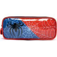 Estojo Spector Aranha Infantil Escolar