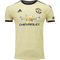 Camisa Manchester United Ii 19/20 Adidas - Masculina - Bege