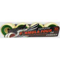 Roda Spitfire Formula Four 99 Og Classic Nat 52Mm Original Verde