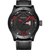 Relógio Curren Analógico 8251 Preto