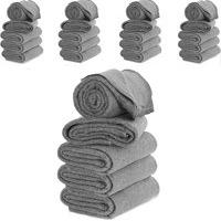 Cobertor Casal 25 Pçs 160X190Cm Corta Febre Popular Doaçáo