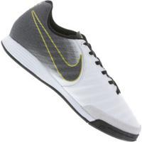 39d2701a7e Chuteira Futsal Nike Tiempo Legend X 7 Academy Ic - Adulto - Branco Preto
