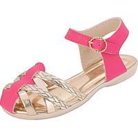 Sandália Bebê Plis Calçados Charminho Feminina - Feminino-Pink