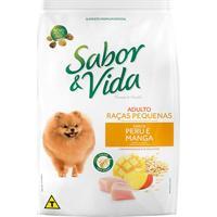 Ração Sabor E Vida Raças Pequenas Peru E Manga Para Cães Adulto 2,7Kg