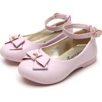 Sapato Lilica Ripilica Menina Rosa