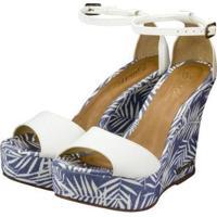 Sandália Barth Shoes Lazuli Feminina - Feminino-Branco