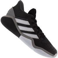 Tênis Adidas Harden Stepback - Masculino - Preto/Branco