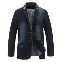 Blazer Jeans Masculino New Orleans - Azul Escuro