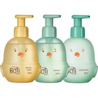 Combo Banho Boti Baby: Shampoo + Condicionador + Sabonete Líquido