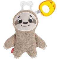 Fisher-Price Porta Chupeta Animais Bicho Preguiça - Mattel
