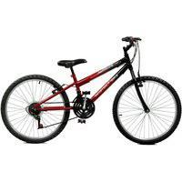 Bicicleta Master Bike Aro 24 Masculina Ciclone Plus Vermelho