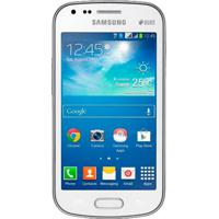 "Smartphone Samsung Galaxy S Duos 2 S7582 - Dual Chip - 3G - 5Mp - Android 4.2 - Tela 4"" - Branco"